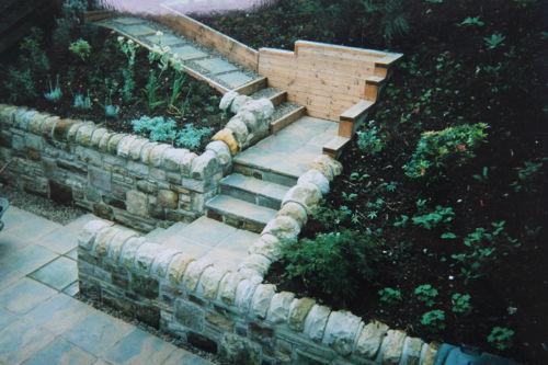 Garden Design - Steps